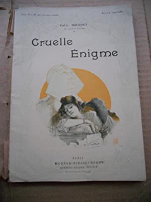 Cruelle enigme - Profils perdus - Illustration: Paul Bourget -