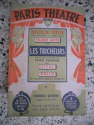 Paris-Theatre / Les tricheurs / L'honorable Catherined: Collectif - Steve