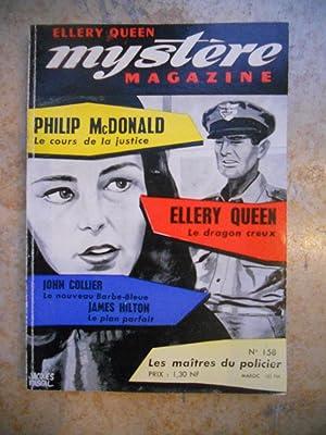 Ellery Queen - Mystere magazine - n°158: Philip McDonald /