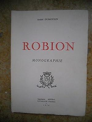 Robion - Monographie: Andre Dumoulin