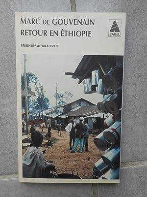 Retour en Ethiopie - Presente par Hugo: Marc de Gouvenain