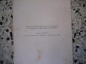 Esquisse ecologique de la Camargue a l'intention: L. Hoffmann -