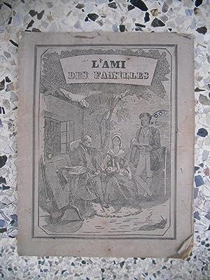 L'ami des familles - Almanach pour l'annee: Collectif