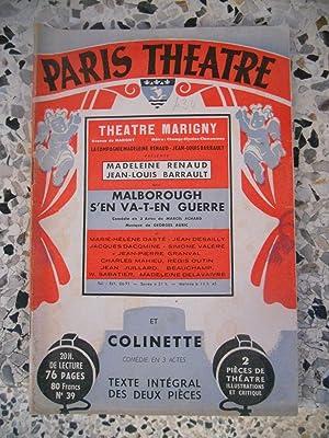 Paris-Theatre / Malborough s'en va-t-en guerre /: Collectif - Marcel