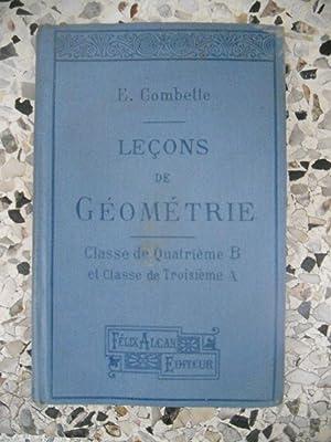Lecons de geometrie - Classe de Quatrieme: E. Combette