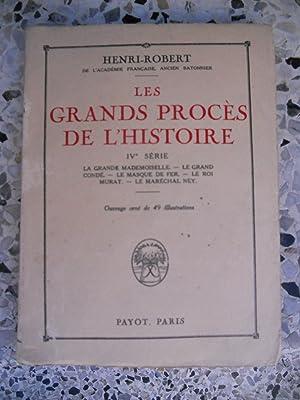 Les grands proces de l'histoire - IV°: Henri-Robert