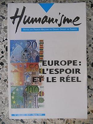 Humanisme - Revue des Francs-Macons du Grand: Collectif