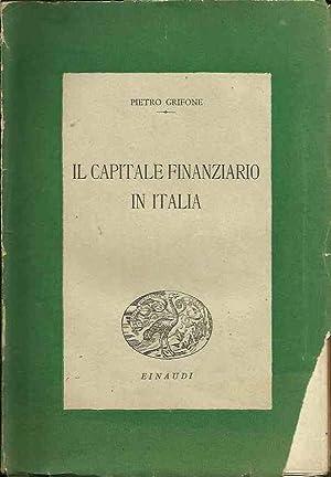 Il Capitale finanziario in Italia: Grifone, Pietro