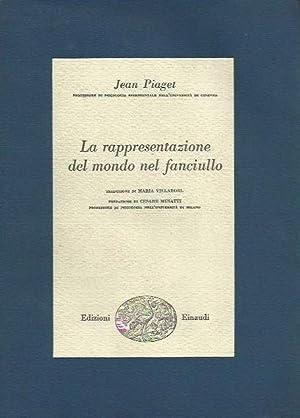 La rappresentazione del mondo nel fanciullo: Piaget, Jean