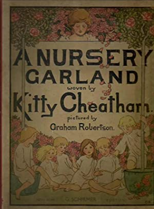 A Nursery garland woven by Kitty Cheatham and pictured by Graham Robertson