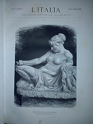 L'Italia. Periodico artistico illustrato - Anno I: AA.VV.