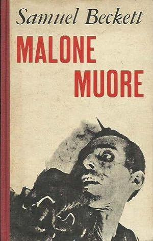 Malone muore: Beckett, Samuel