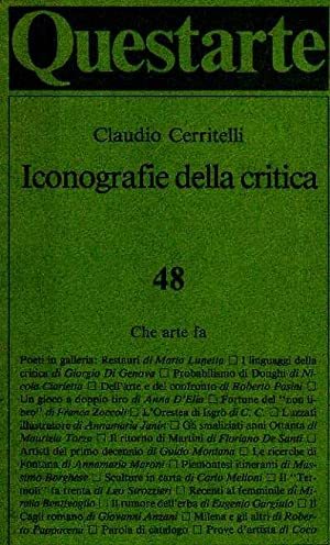 Iconografie della critica: Cerritelli, Claudio