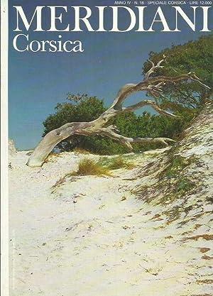 Meridiani. Corsica - Anno IV n.16: AA.VV.