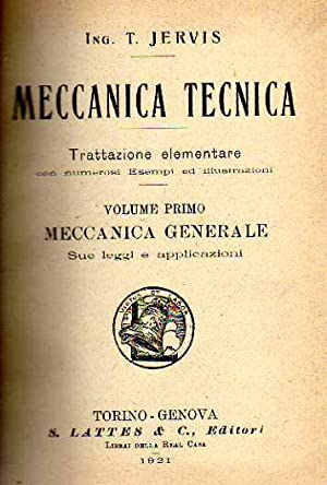 Meccanica tecnica: T. Jervis