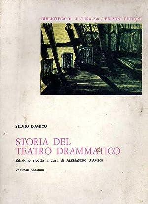 Storia del Teatro drammatico.Volume II.L'Ottocento - Il: Silvio D'Amico