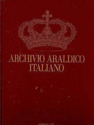 ARCHIVIO ARALDICO ITALIANO. Rivista di storia e: SPANU Salvatorangelo Palmerio