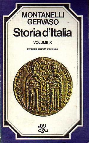 Storia d'Italia. Volume X. L'apogeo dell'età comunale: Indro Montanelli, Roberto