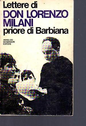 Lettere di don Lorenzo Milani, priore di: Milani, Lorenzo