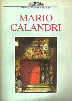 MARIO CALANDRI UN MAESTRO DELL'ACCADEMIA ALBERTINA: A.V.