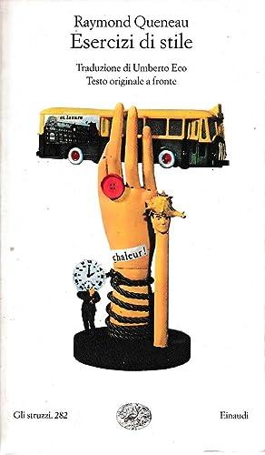 Esercizi di stile: Queneau Raymond