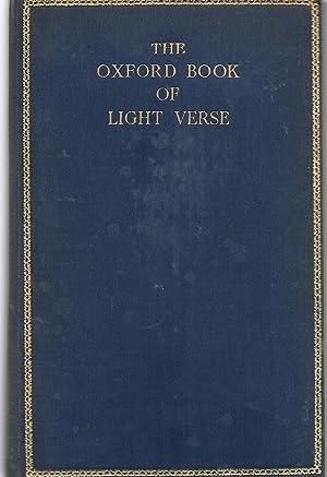 The Oxford Book of Light Verse: Auden, W.H. (chosen