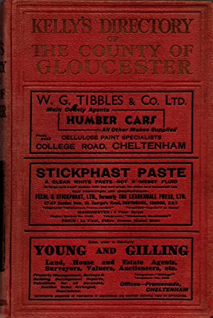 Kelly's Directory of the County of Gloucester 1931