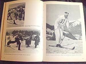 Kampf und Sieg in Schnee Und Eis Winterolympia 1936. Verlauf der IV. Olympischen Winterspiele vom 6...