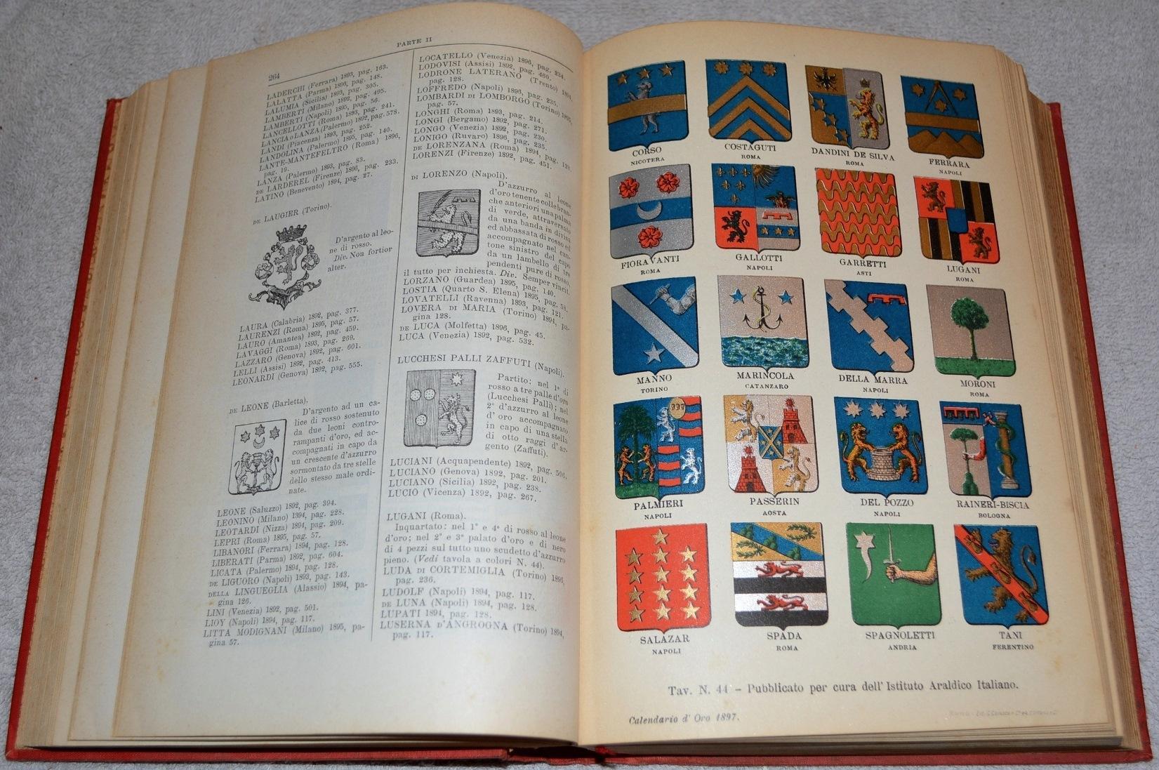 Calendario Anno 1992.Calendario D Oro Annuario Nobiliare