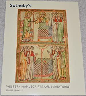 Western Manuscripts and Miniatures. Auction Catalogue. 2: Sotheby's