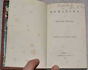 Romances and Minor Poems: Bell, Henry Glassford (1803-1874)