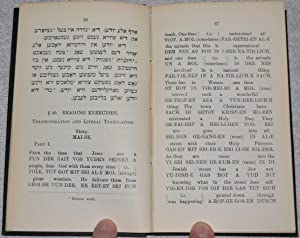 First Steps in Yiddish (Reading and Grammar): Heathcote, H.