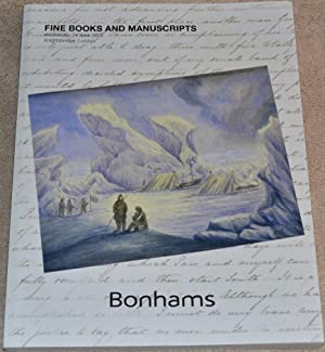 Fine Books and Manuscripts. Knightsbridge, London. Wednesday: Bonhams