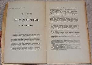 5 Extraits des Annales de l'Académie d'Archéologie: Heyden, Nicolas Jean