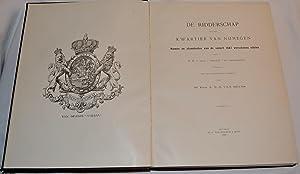 De ridderschap van het kwartier van Nijmegen. Namen en stamdeelen van de sedert 1587 verschenen ...