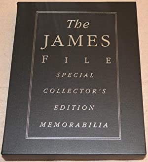The James File (COLLECTOR'S EDITION, 3 Volume set with a bookcase and video): Slaight, Allan; ...