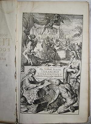 Thesaurus Ecclesiasticus, e patribus Graecis Ordine Alphabetico exhibens: Quaecunque Phrases, Ritus...
