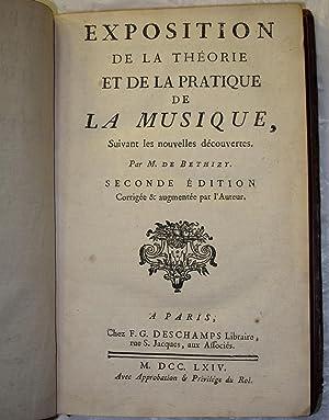 Exposition de la Théorie et de la pratique de la Musique, suivant les nouvelles découvertes.: ...