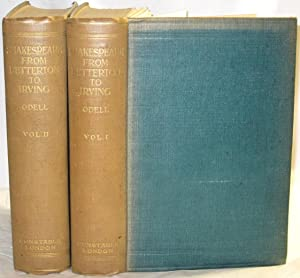 Shakespeare from Betterton to Irving. 2 Volumes