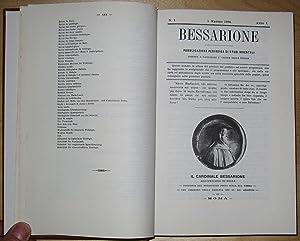 BESSARIONE. Pubblicazione Periodica di Studi Orientali (10 Volumes): Marini, Noccolò (1843-1923)