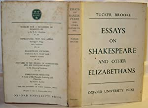 Essays on Shakespeare and other Elizabethans