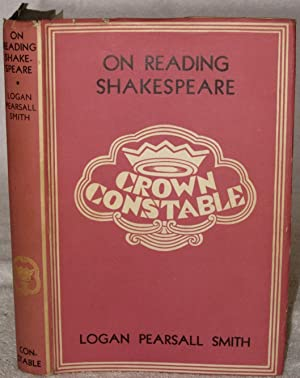 On Reading Shakespeare