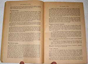 British Speeches of the Day. Number 8. Issued October 1943.: Winston Churchill; Anthony Eden; ...
