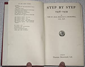 Step by Step. 1936-1939: Churchill, Winston S.