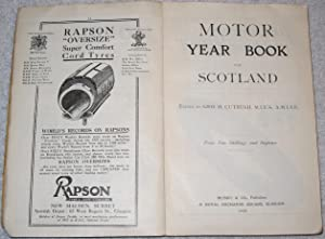 Motor Year Book for Scotland. 1925: Geo. H. Cutbush (Edited by)