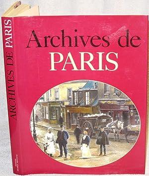 Archives de Paris: Jacques Borgé et