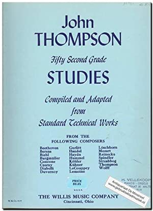 Fifty second grade studies: Thompson, J