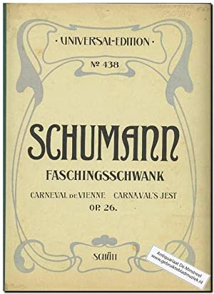 Faschingsschwank aus Wien Op. 26: Schumann, Robert