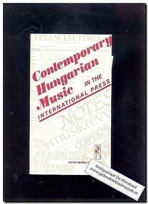 Contemporary hungarian Music in the international press (Text: English): Varga, B.A.