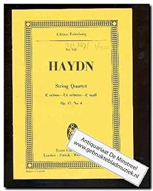 String Quartet c minor opus 17 no.: Haydn, J.